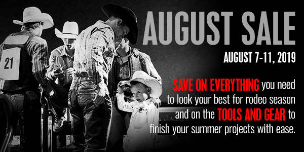 August 2019 Sale